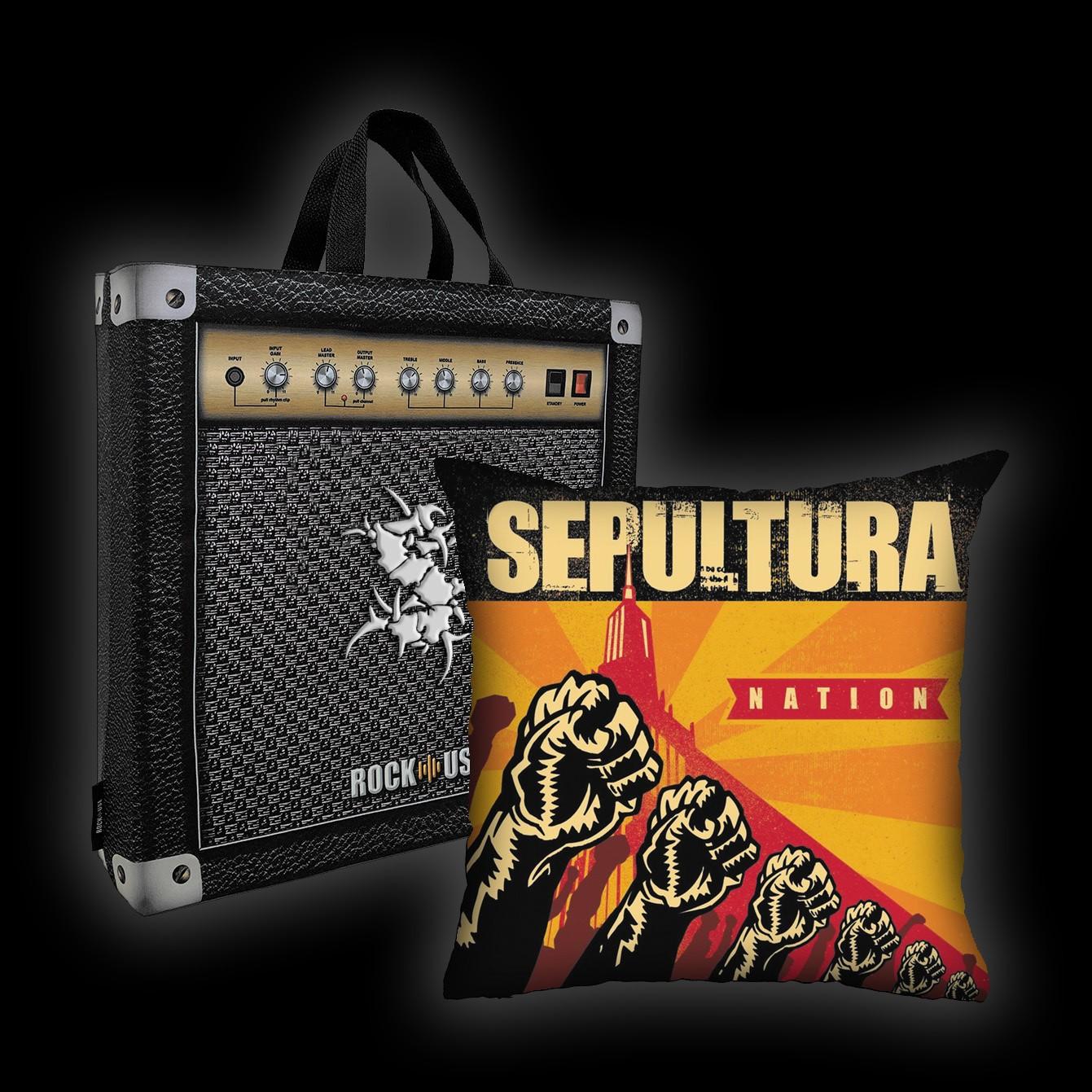 Kit Almofada & Sacola Sepultura - Nation