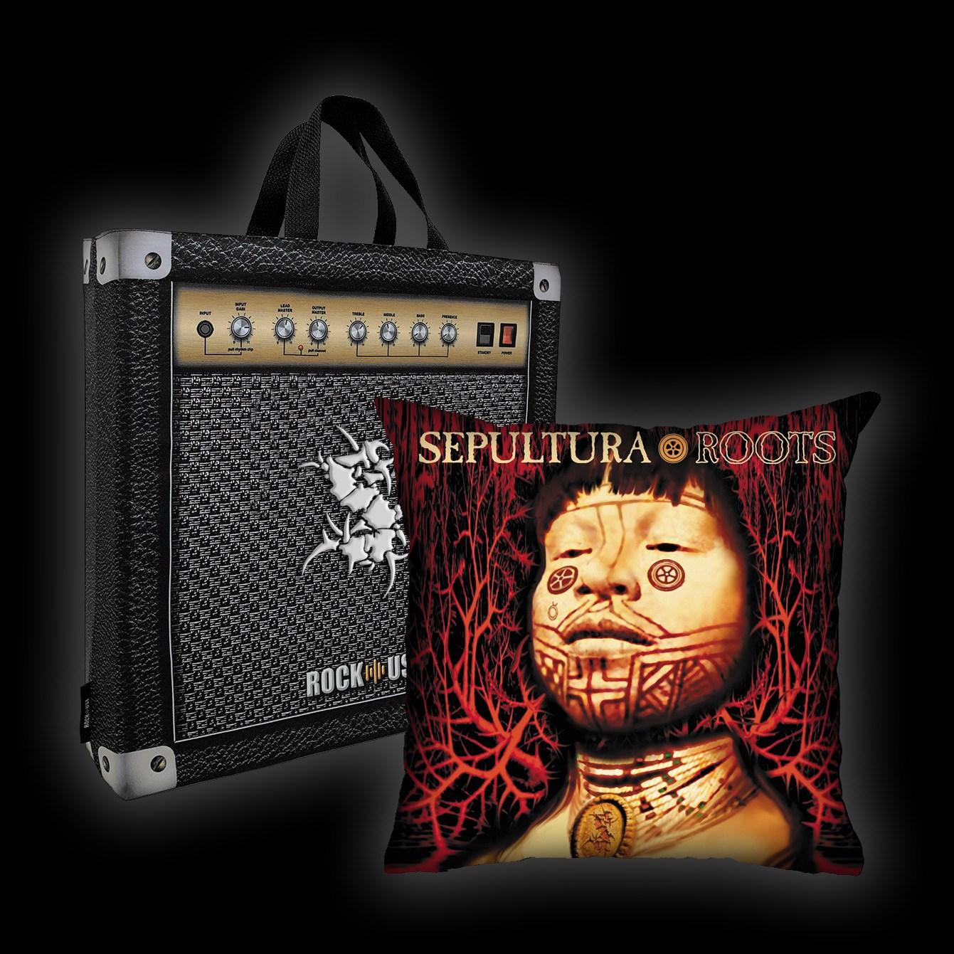 Kit Almofada & Sacola Sepultura - Roots