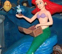 A Red-Haired Mermaid by Laraine Smith