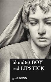 blonde BOY, red LIPSTICK by geoffbunn