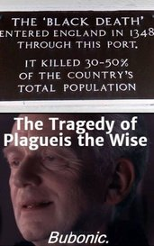 The Tragedy of Plagueis the Wise by Monshter