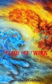 Fire And Ice: Clash Of Winds by Jordyn Nightskai
