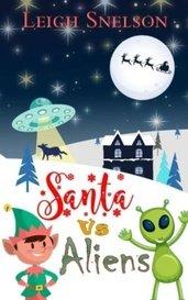 Santa vs Aliens by Leigh