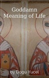Goddamn Meaning of Life by Dogu Yucel