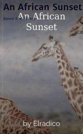 An African Sunset by Auwal Abdulazeez