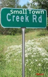 Small Town Creek Road by 73Wombat