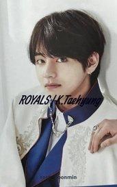 ROYALS   K.Taehyung by rose_yoonmin