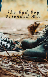 The Bad Boy Friended Me  by Avery Law