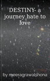 DESTINY- a journey hate to love by meeragrawalshona