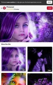 The girl whit the purple hair by traceytaylor602