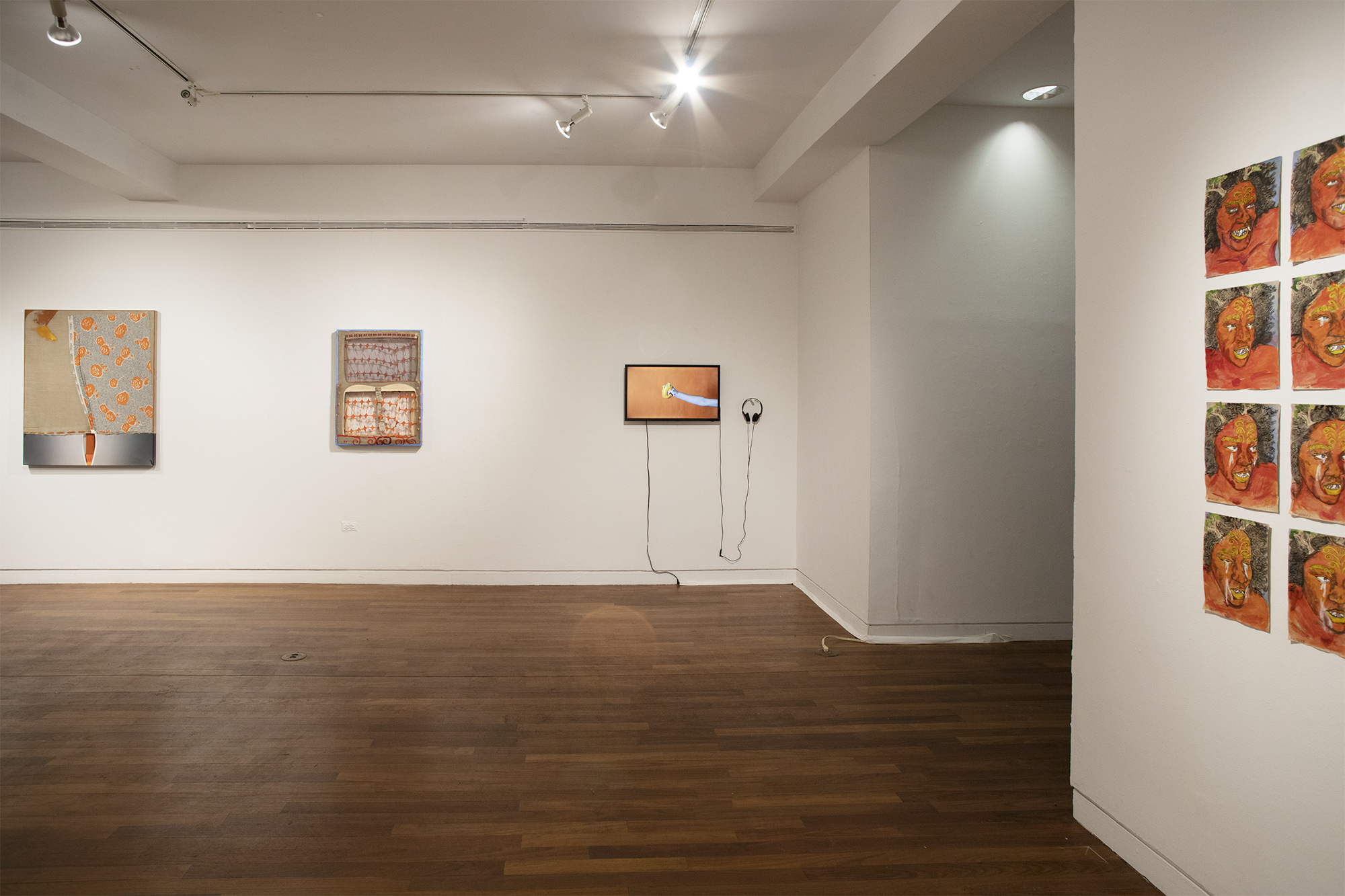 works by Tamar Ettun, Leeza Meksin, Kiyomi Quinn Taylor