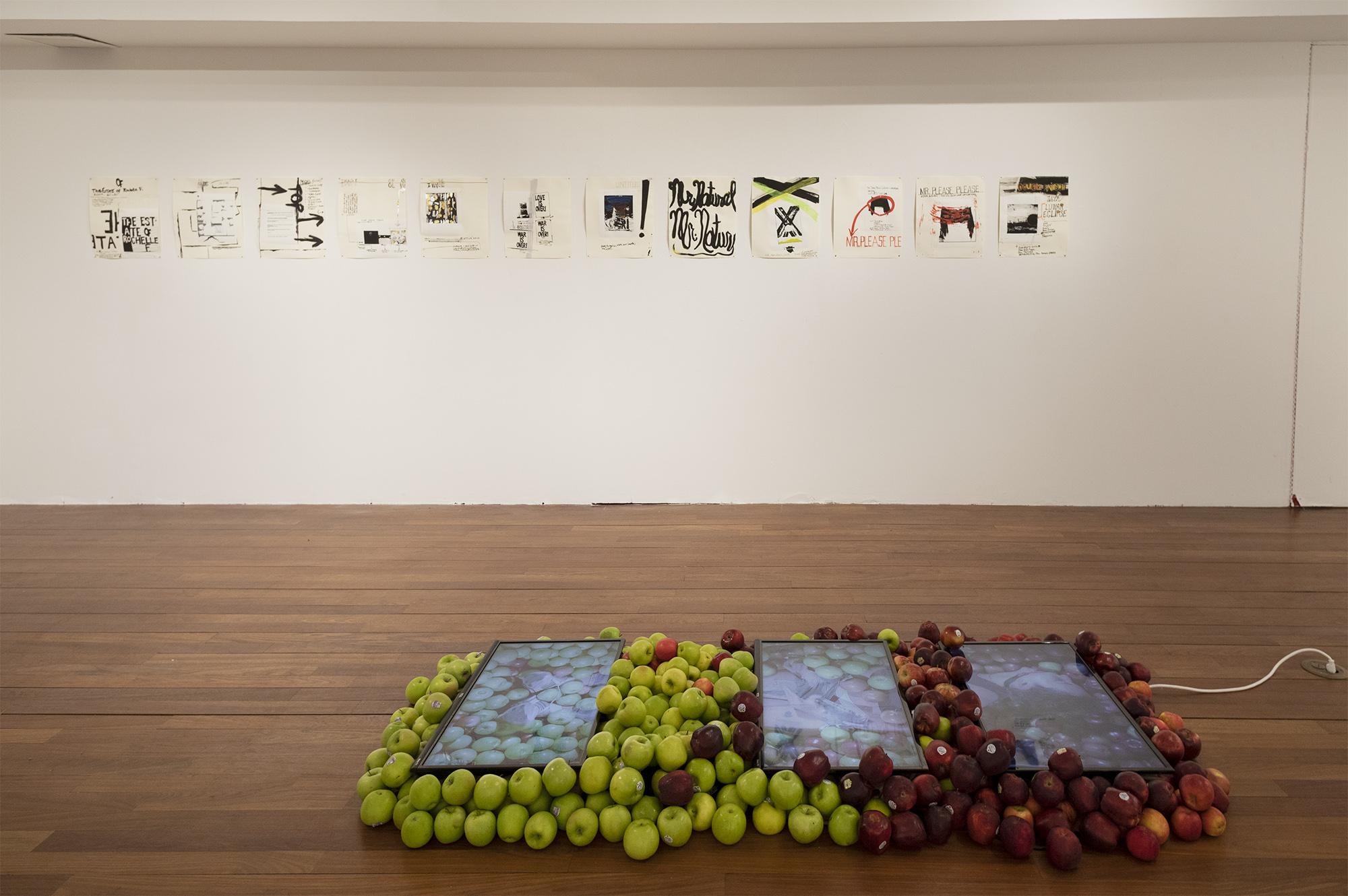 works by Aika Akhmetova, Rochelle Feinstein