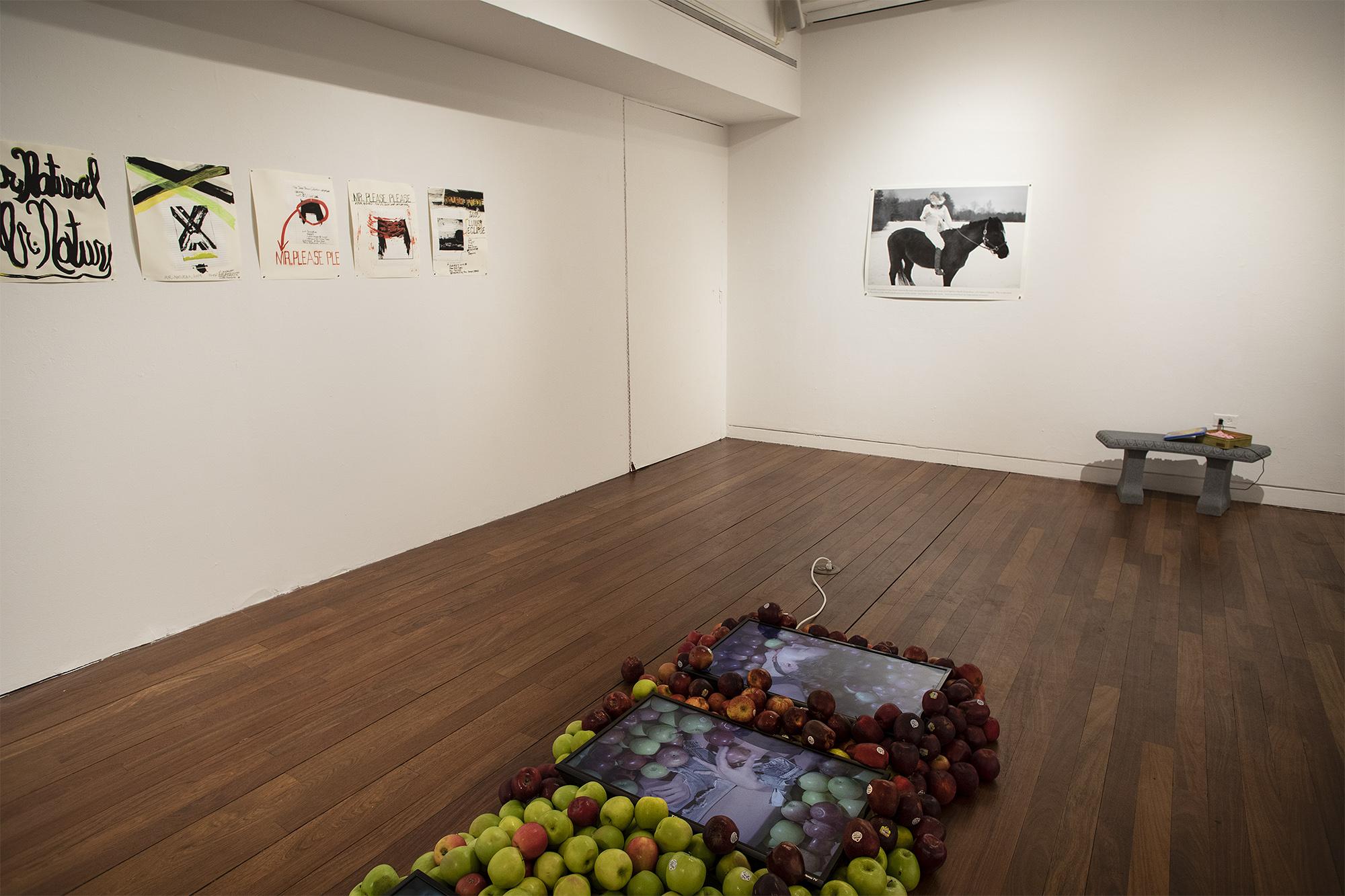 works by Aika Akhmetova, Rochelle Feinstein, Dana Hoey, Yifan Jiang