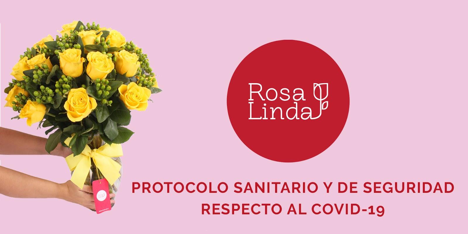 Protocolos sanitarios y de seguridad en #FloreríaRosalinda respecto al COVID-19