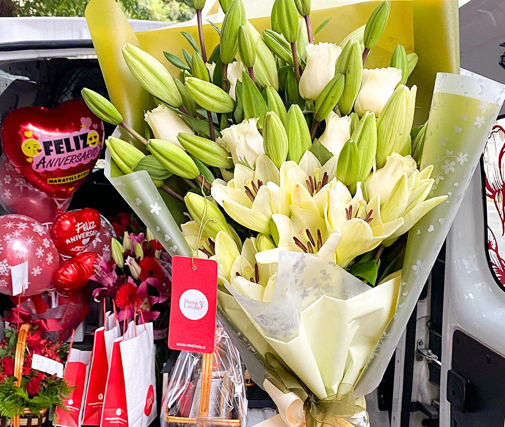 Flores y regalos a domicilio: a solo clics de distancia