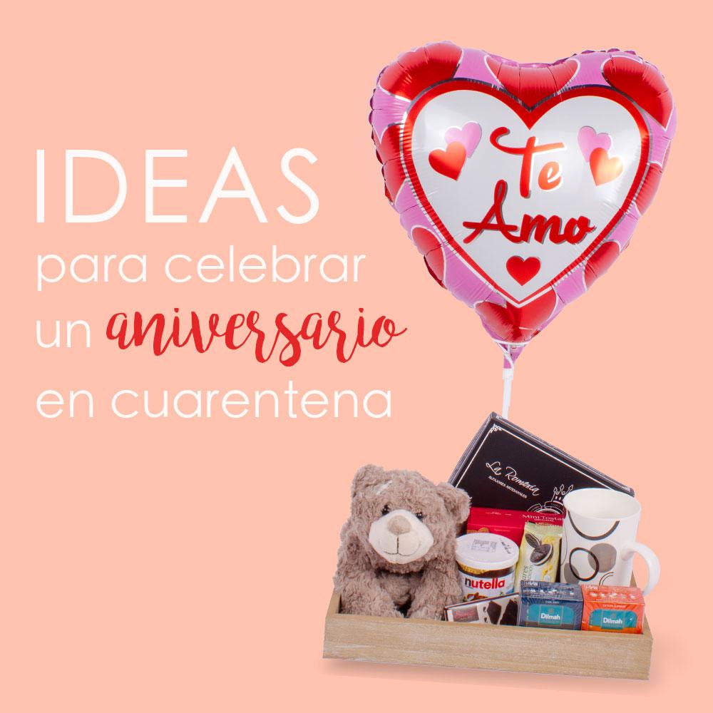 Ideas para celebrar un aniversario en cuarentena