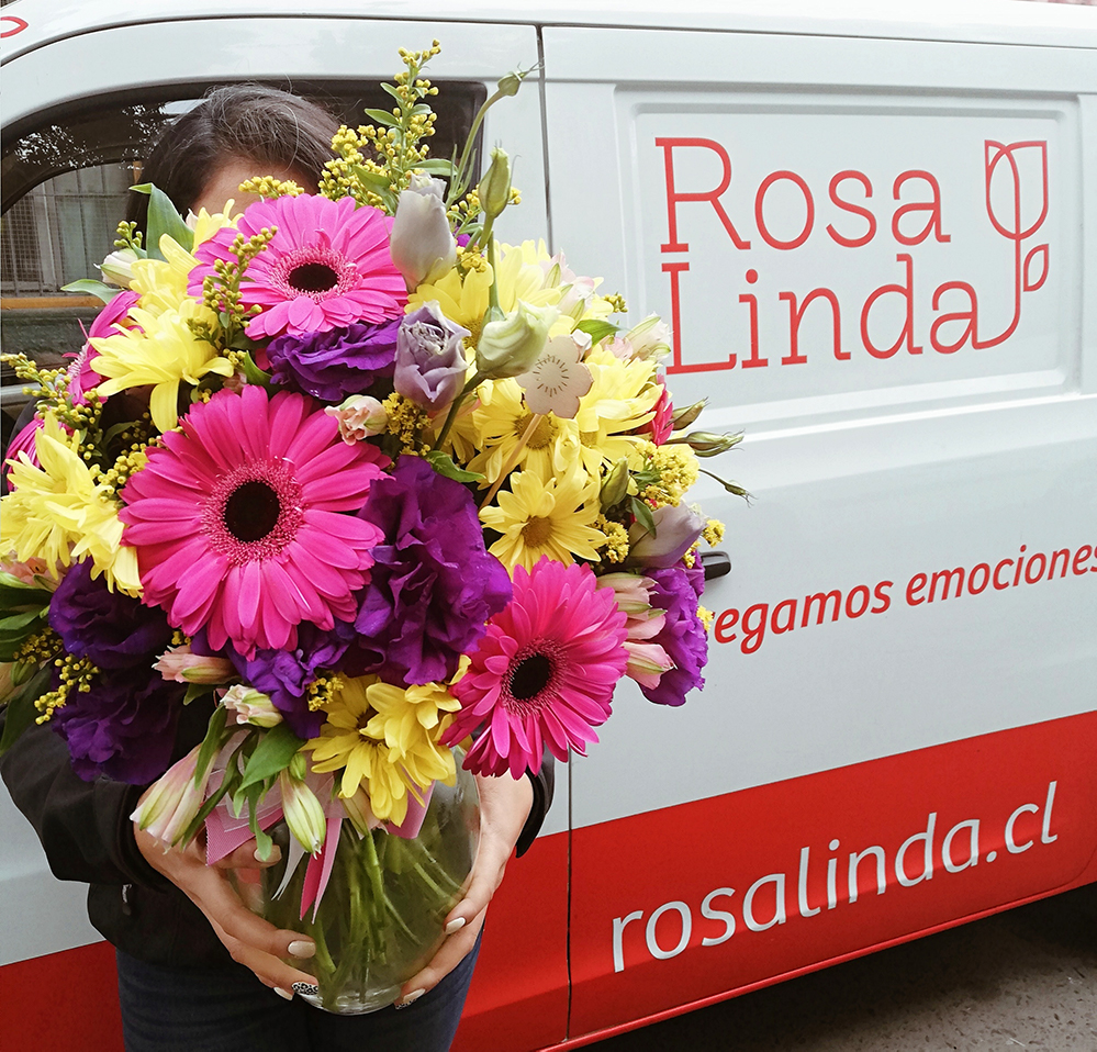 Rosalinda, venta de flores y entrega de emociones