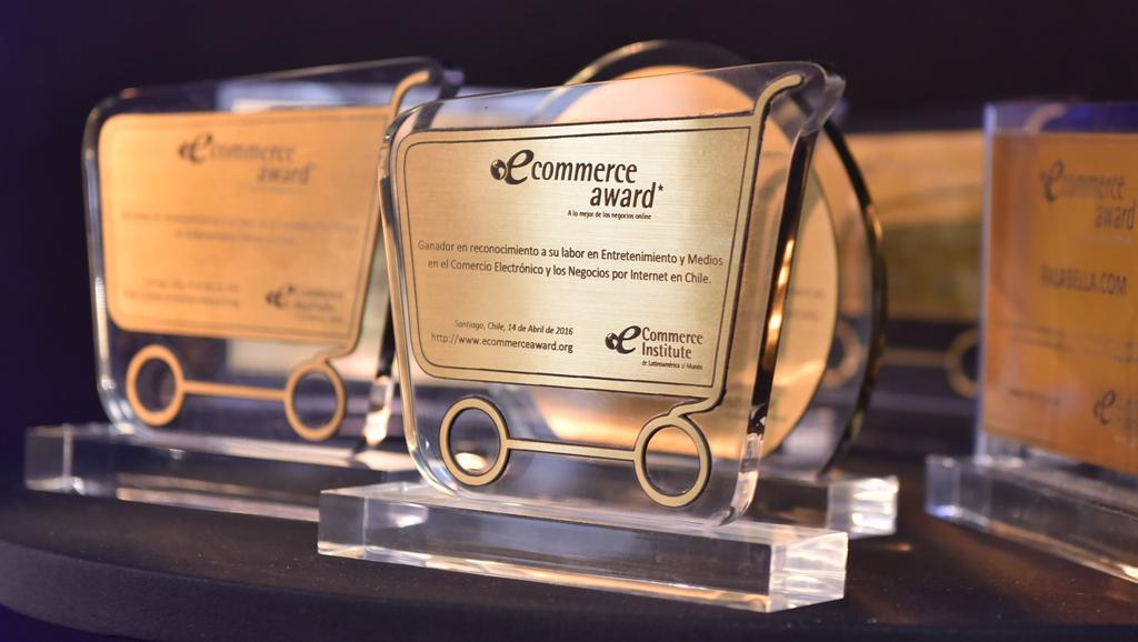 Fuimos premiados como la mejor PyME de ecommerce de Chile 2016
