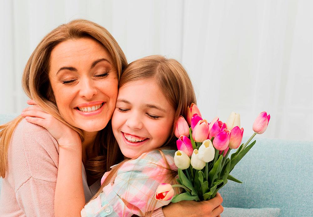 ¿Cómo podemos celebrar a mamá en su día?