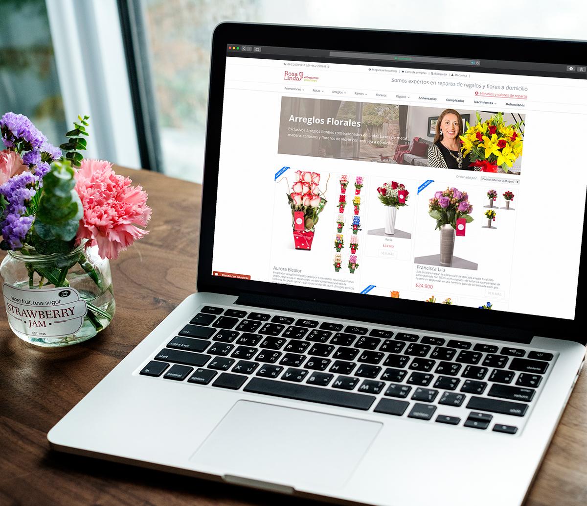 Los beneficios de comprar y enviar flores por Internet