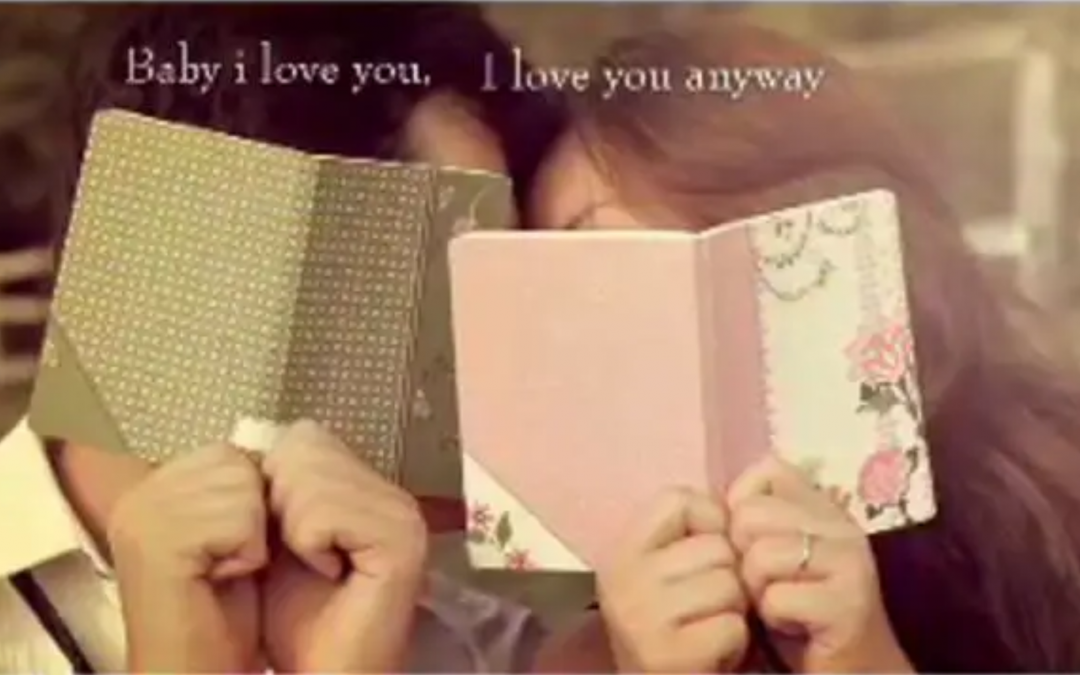 She says: That's When I Love You..