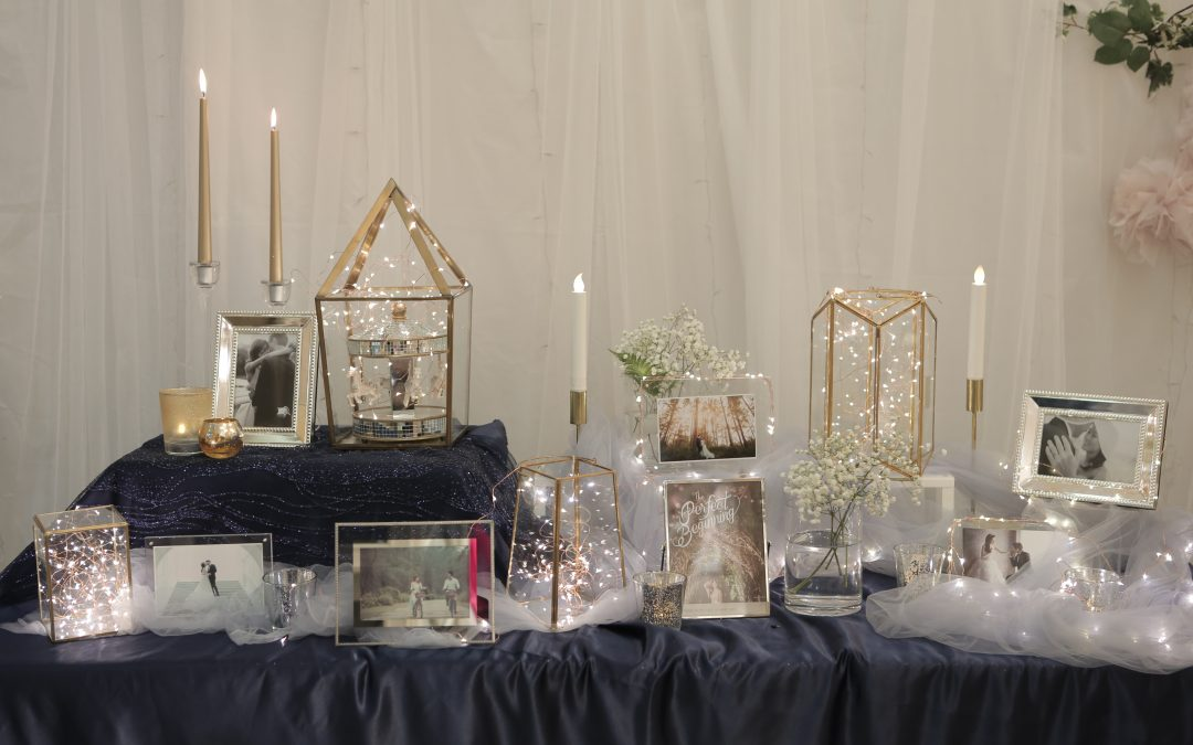 Affordable Wedding  Decor : Photo Table Ideas From Real Weddings At Rosette