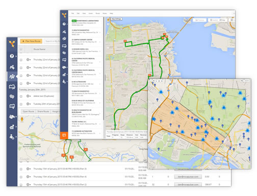 Route4Me's map route planner allows you to map, search, and categorize customers