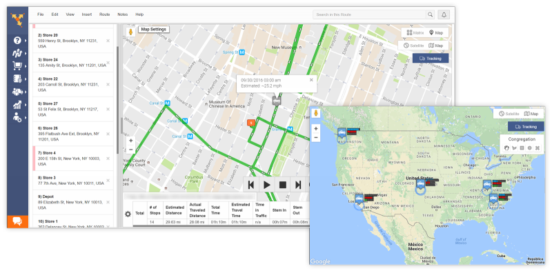 Use Route4Me's GPS tracking to know where your assets, people, and vehicles are
