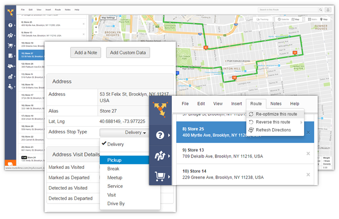 Route4Me features dynamic routing, allowing you to reoptimize your routes