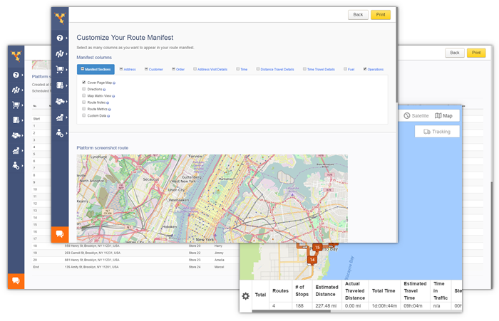 Route4Me's GPS tracking software offers real time traffic updates