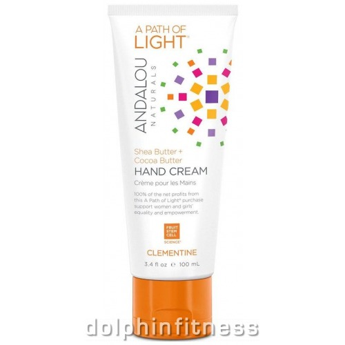 Andalou Naturals Shea Butter Cocoa Hand Cream Clementine