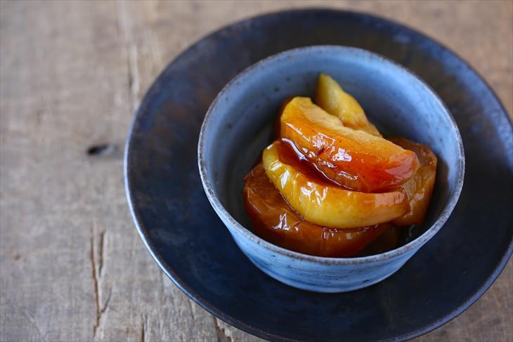 スパイス香るリンゴのキャラメル煮