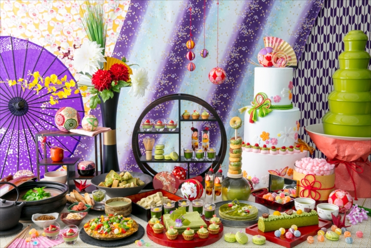 抹茶姫の初恋ランチブッフェ