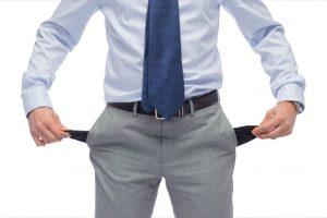 年収の低い男性