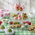 苺と抹茶のアフタヌーンティー
