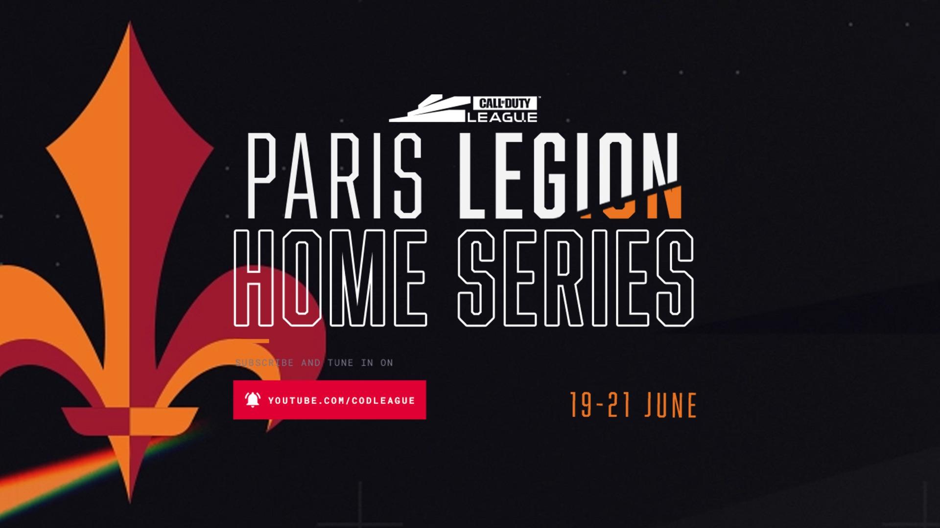 CDL Week 10 – Paris Legion Home Series