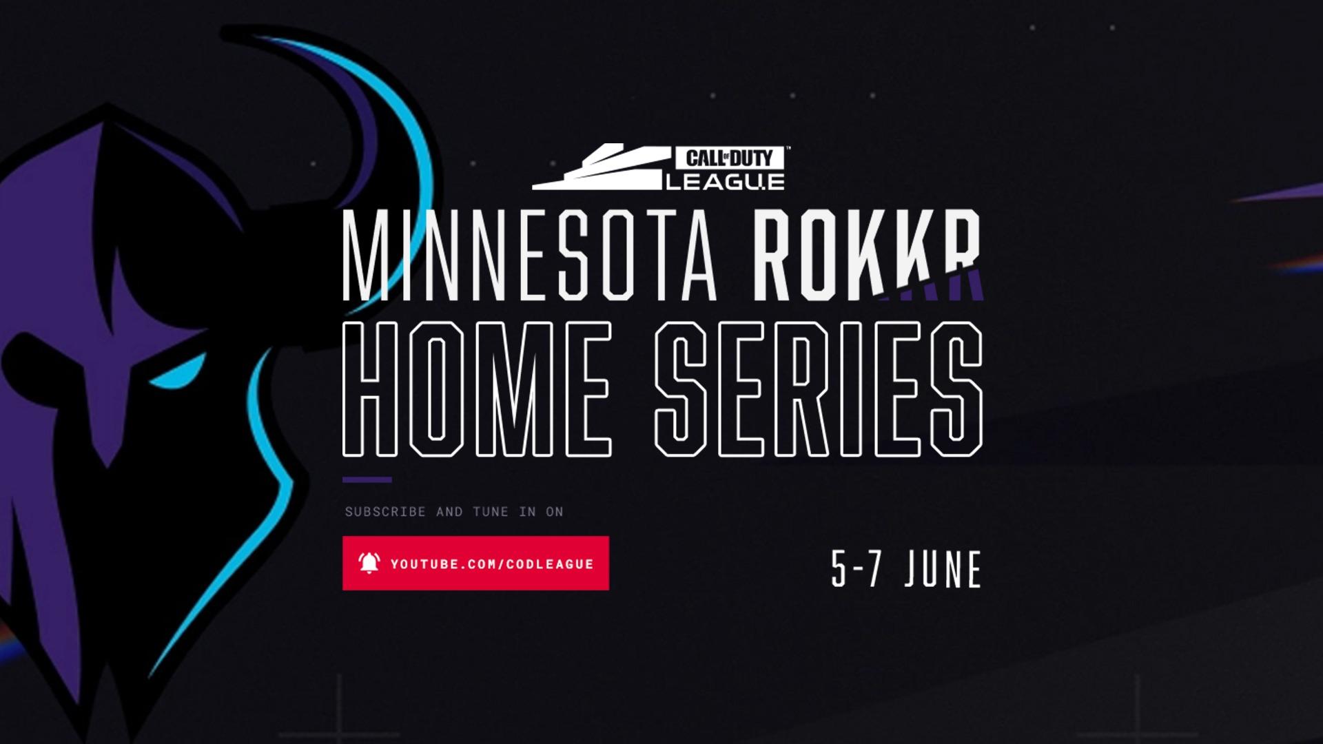 CDL Week 9 – Minnesota Rokkr Home Series