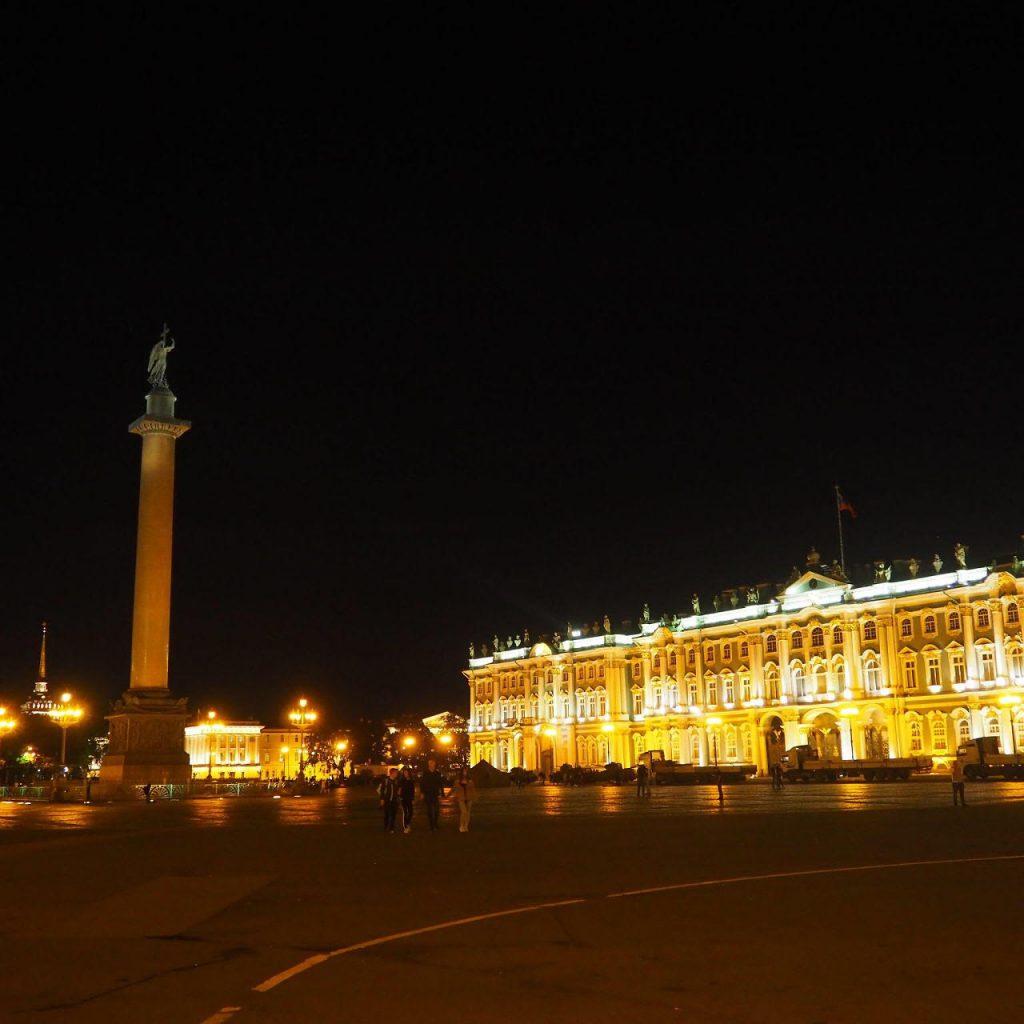 サンクトぺテルブルグ夜景