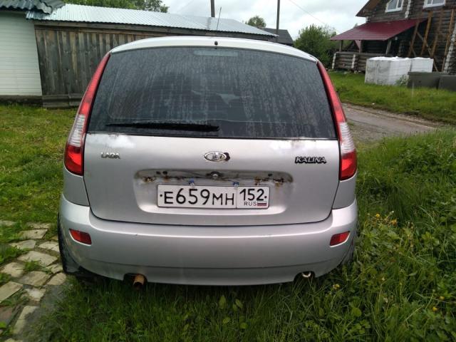 Торги №99359 Лот №182729 Легковой автомобиль, марка: LADA, модель: KALINA - торги по банкротству 6