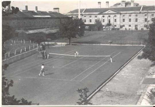 History Tennis On The Lawn