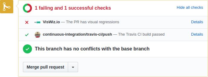 PR commit status updated by VisWiz.io