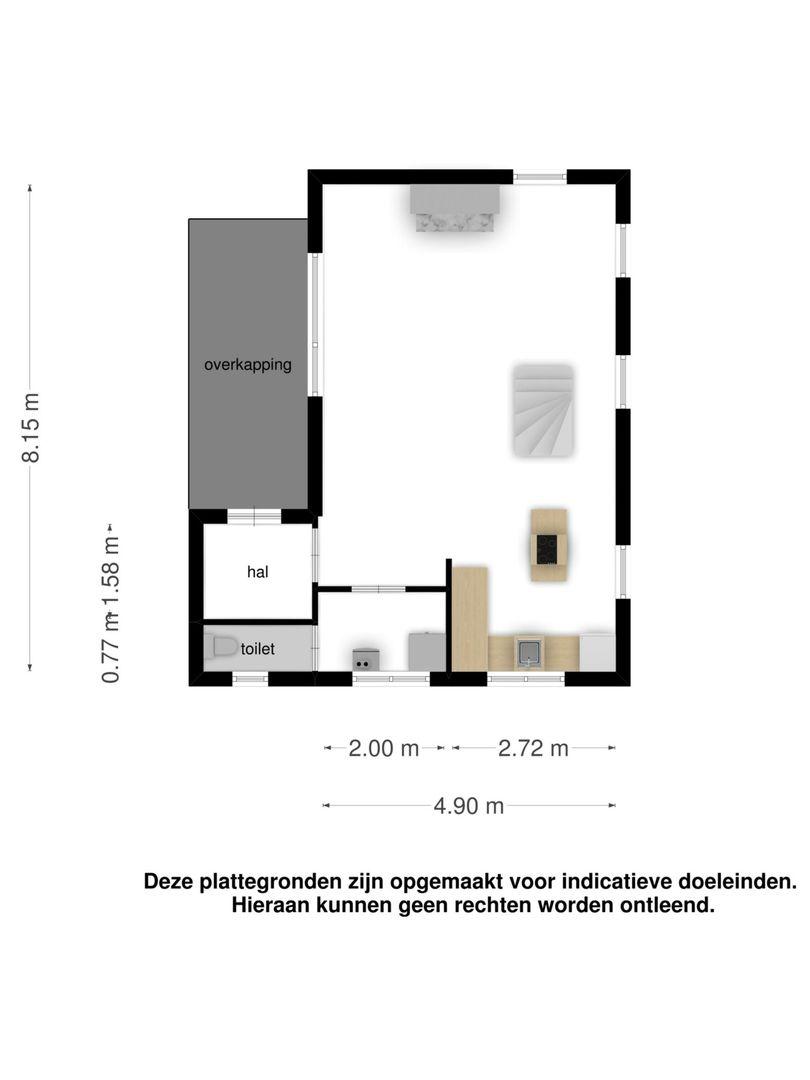 Oud Bonaventurasedijk 38 plattegrond-19