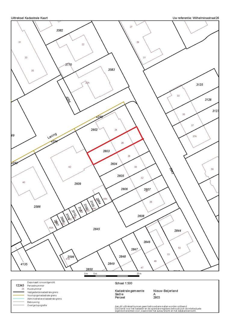 Wilhelminastraat 26 plattegrond-25