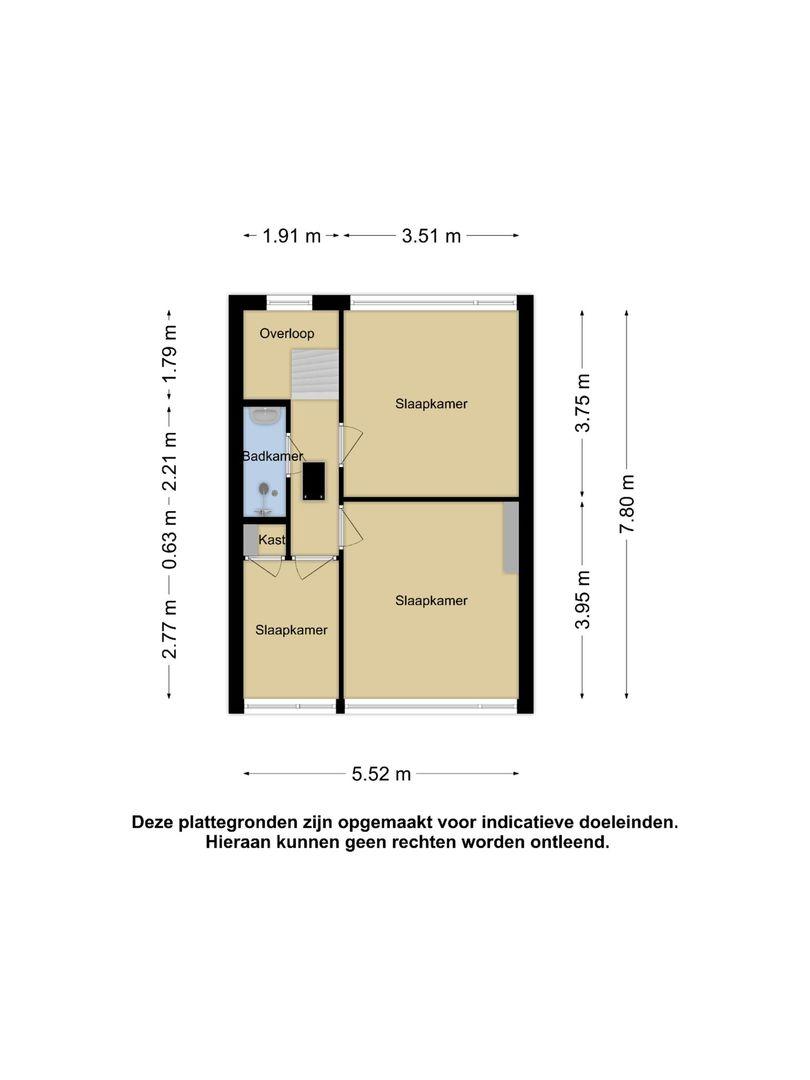 Croonenburgh 28 a plattegrond-19