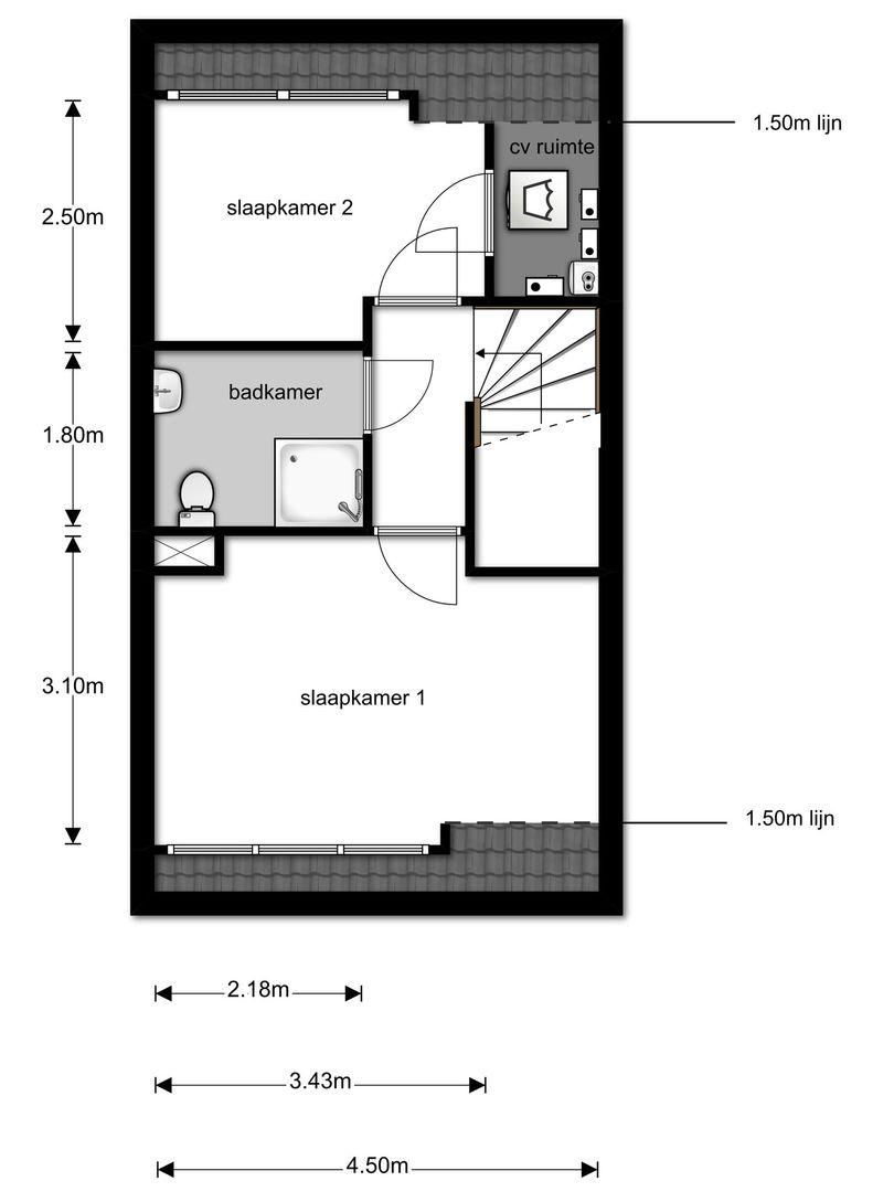 Schoolstraat 132 plattegrond-17