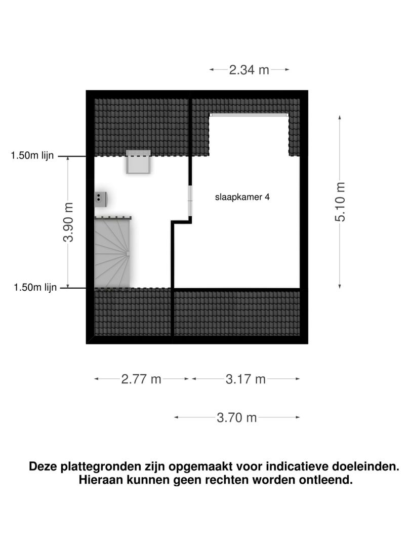 's-Gravenweg 25 plattegrond-38