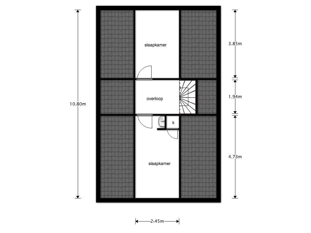 Grote Riethure 3 plattegrond-21