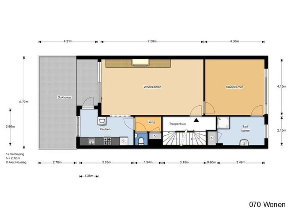 Weissenbruchstraat 60, Den Haag floorplan-0