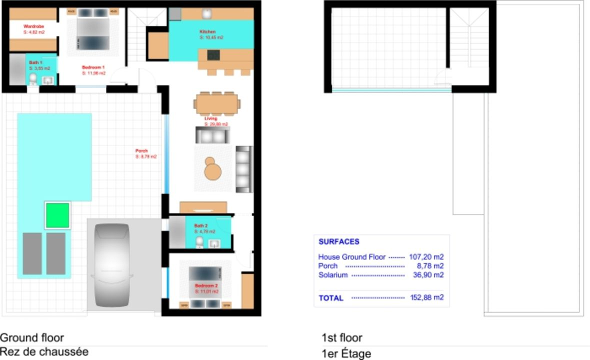 Daya Vieja, Daya Vieja Zuid Alicante floorplan-0