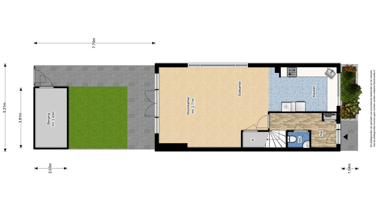 Molensingel 47, Delft plattegrond-3